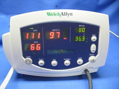 Welch Allyn 5300053nto Vital Signs Monitor. Certified. Warranty. New Battery