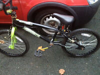 Free bike for parts or repair 2 good wheels and tyres