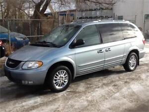 2003 Chrysler Town & Country Limited 219KMS $3995 FIRM MIDCITY