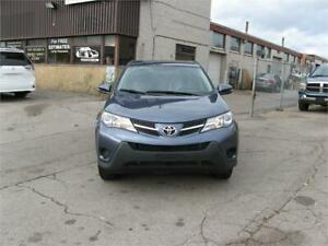 2014 Toyota RAV4 LE    EXTRA SET OF WINTER TIRE AND RIM INCLUDE