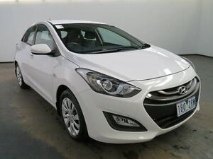 2015 Hyundai i30 GD MY14 Active 1.6 CRDi White 6 Speed Automatic Hatchback Albion Brimbank Area Preview