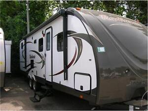 2014 RADIANCE 28FT BUNKHOUSE LIGHTWEIGHT TRAVEL TRAILER
