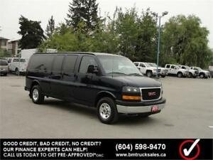 2015 GMC SAVANA 3500 EXTENDED 1 TON **ONLY 25,000KM**