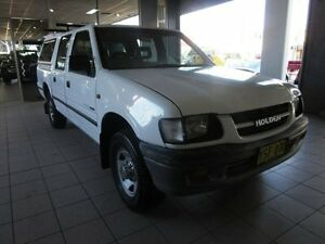 1999 Holden Rodeo TFR9 LX White 4 Speed Automatic Crew Cab P/Up Thornleigh Hornsby Area Preview