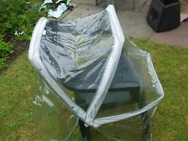 PLASTIC RAINCOVER FOR BUGGY