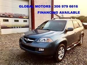 2006 ACURA MDX W/TOURING PKG - FINANCING AVAILABLE