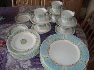 Price is firm. Vintage-Nikko China-Mayfair pattern