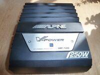 Alpine V-POWER MRP-T220 2, 1 channel power amp