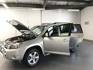 2008 Toyota RAV4 GSA33R SX6 Silver 5 Speed Automatic Wagon Frankston Frankston Area Preview