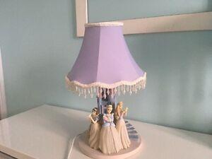 Lampe de chevet - 3 Princesses Disney