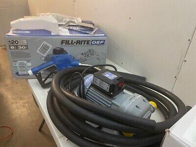 Fill-rite Df120dan520 8 Gpm 120v Def Transfer Pump With Auto Nozzle
