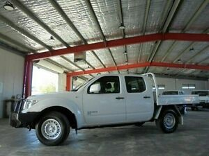 2012 Nissan Navara D40 S6 MY12 RX White 6 Speed Manual Utility Welshpool Canning Area Preview