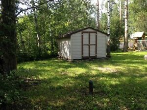 Perfectly located in the town of Alberta Beach, this lot is a...