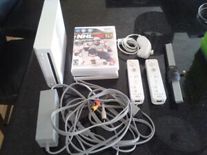Wii Nintendo, hookups and games