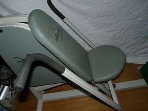Professional Weightless Sitting Push Press Excersize