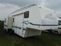1998 Terry 30F 5th Wheel Trailer with 2 power Slides