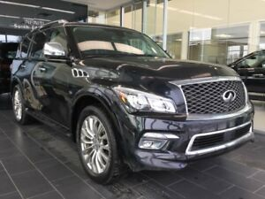 2016 Infiniti QX80 TECHNOLOGY, NAVI, 4WD, ACCIDENT FREE