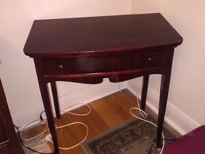 Cherry Wood Corner Table