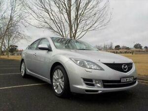 2008 Mazda 6 GH Luxury Sunlight Silver 5 Speed Auto Activematic Sedan Armidale Armidale City Preview