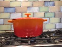 Traditional Le Crueset casserole saucepan