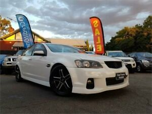 2011 Holden Commodore VE II SV6 White 6 Speed Automatic Sedan
