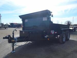 INCLUDES ALL THE OPTIONS - YOUR LOWEST PRICED 6X10 DUMP TRAILER London Ontario image 2
