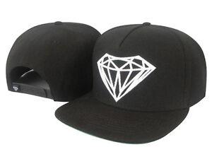 Fashion men black Diamond Supply Co Snapback Adjustable Baseball Cap Hip hop Hat