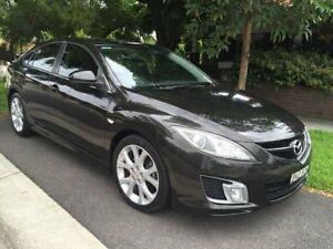 2009 Mazda 6 2.2 DIESEL Black Manual Sedan Croydon Burwood Area Preview