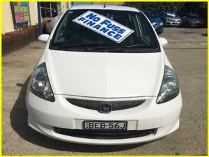 2007 Honda Jazz GD GLi White 1 Speed Constant Variable Hatchback