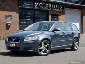 2008 Volvo V50  *Certified, Warranty, Leather*
