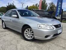 2007 Ford Falcon BF Mkll Futura Sedan Invermay Launceston Area Preview