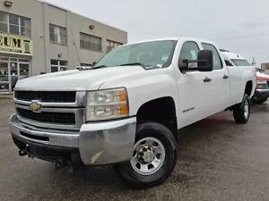 2007 Chevrolet Silverado 3500HD WT 4X4 LONG BOX **NEW TIRES**