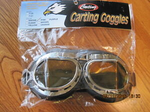 CARTING GOGGLES Great for Evening Riding
