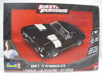 Fast & Furious DOM`S 71 Plymouth GTX Bausatz Revell 1:24 OVP NEU