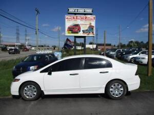 2010 Honda Civic 4dr Man