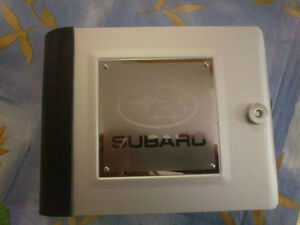 Subaru Metallic CD/DVD Storage Case