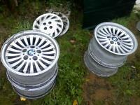 16 inch factory bmw540i rims for sale no tires