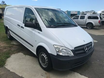 2012 Mercedes-Benz Vito MY11 113CDI LWB White 5 Speed Automatic Van