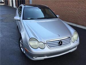 ★★★ 2002 Mercedes-Benz C230 Coupe Kompressor Sport  ★★★