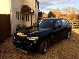 BMW X1 SDrive 18d SE 5Dr 2010 2Litre Diesel Manual Black