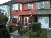 Ground floor room with private outside space to rent immediately. Very close to Neasden station.