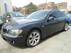 2006 BMW 750I Accident Free/Full Luxury Package/ONLY155km!!