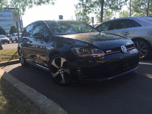 2015 VW GTI with Car Starter, Winter tires,3 payments & transfer