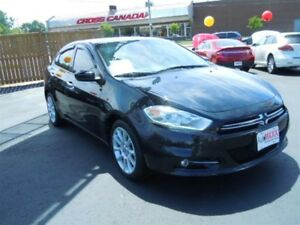 2013 DODGE DART LIMITED - SUNROOF, NAVIGATION, REAR VIEW CAMERA,