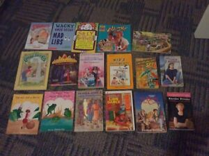 Lots of assorted kid's and tween reading books novels