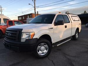 2009 Ford F-150 XL  4X4 **CAP-BED SLIDE-NEW TIRES**