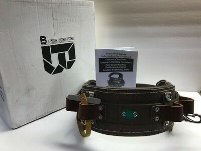 Bashlin Linemans Climbing Belt Size D19 No. 1511n New In Box