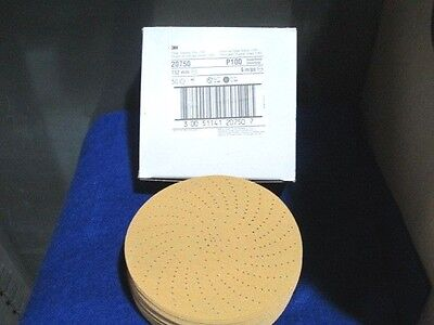 3m 20750 Hookit Clean Sanding Disc 6 P100 C-weight 50 Pieces