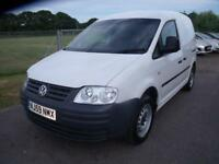 VOLKSWAGEN CADDY C20 SDI White Manual Diesel, 2009
