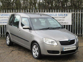 SKODA ROOMSTER 2 1.9 TDI PD 105HP 2007 (57) ONLY 54K FSH 7 X STAMPS / 1YRS MOT!!